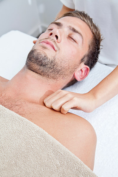 Bowen Therapy neck treatment